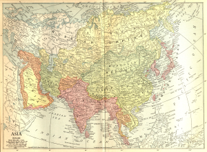 Asia in 1914 Wiki